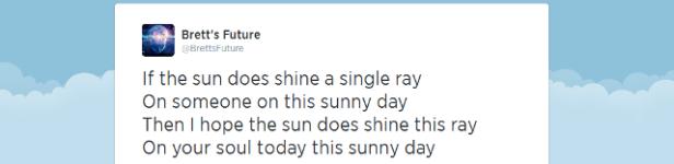 Suns single ray