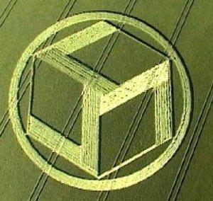 crop circle & cube
