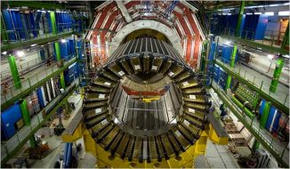 It is located at CERN near Geneva