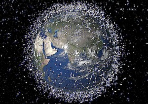 Satellites orbiting Earth